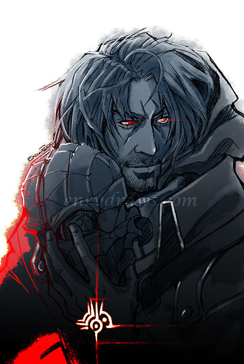 Corvo from Dishonored high chaos version