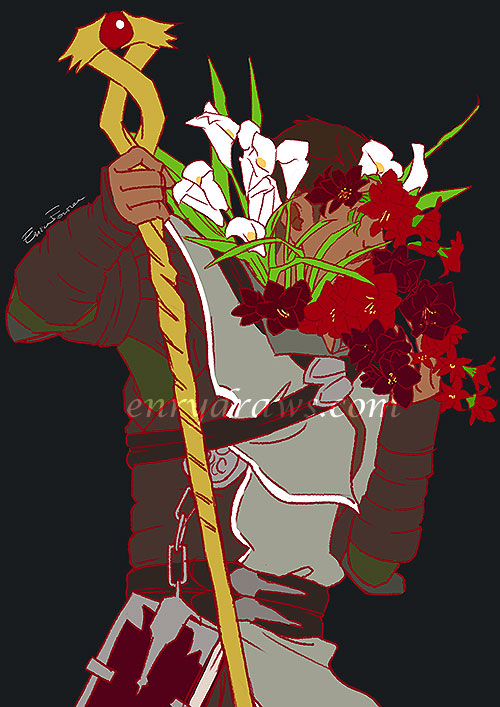 amaryllis and calla for pride and beauty dorian pavus dragon age