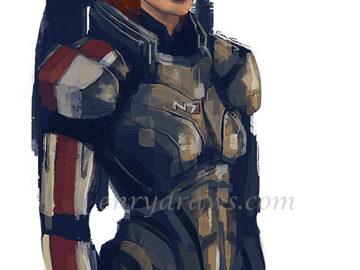 femShep from Mass Effect
