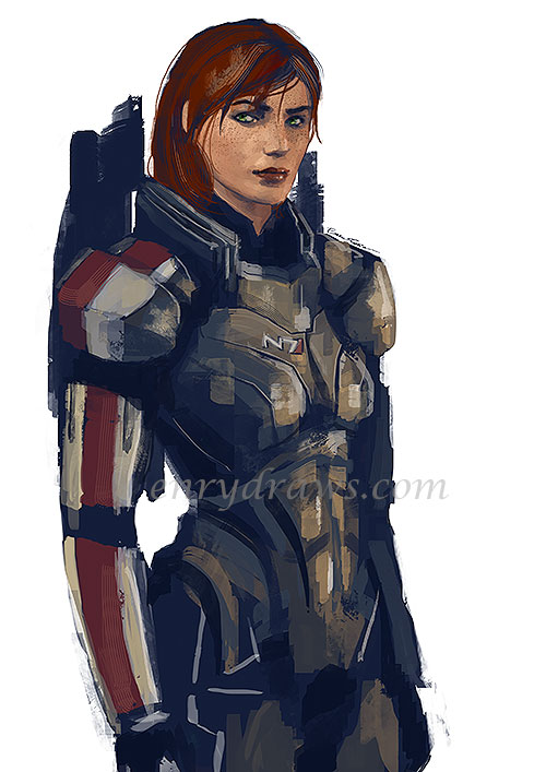 femShep from Mass Effect