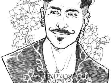 Dorian Pavus' lovely smile