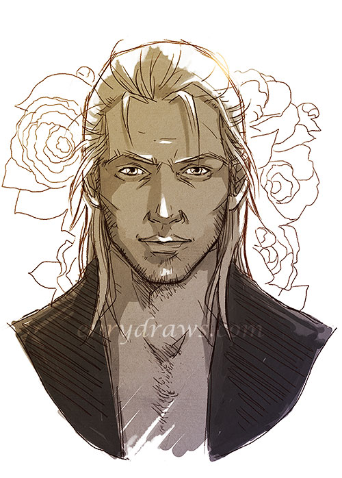 Anders can be handsome sometimes