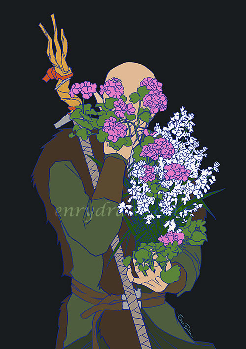 hyacinth and geranium for sorrow and determination solas dragon age